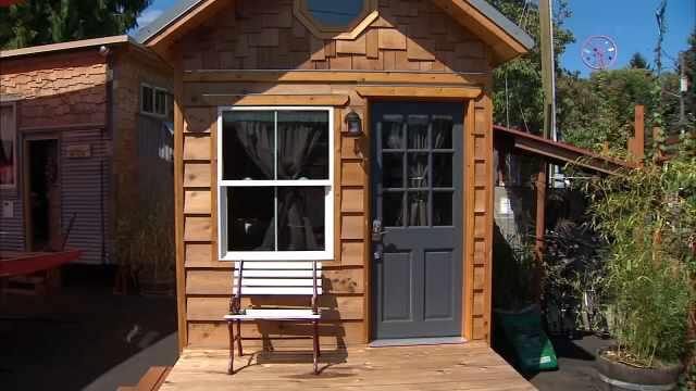 Portland considering tiny homes for citys homeless KPTV FOX 12