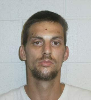 Dustin Rotter, booking photo