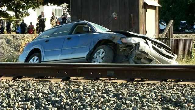 Car Crash Sandy Boulevard Portland