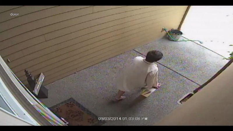 CC - Caught On Camera: Boy's Birthday Gift Stolen From Front Porch