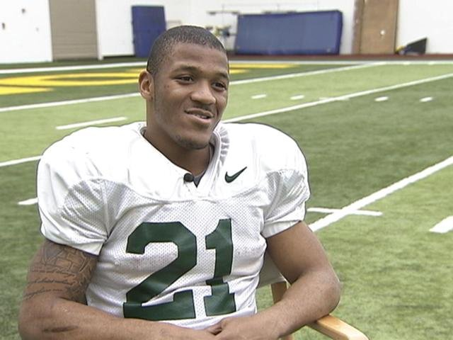 LaMichael James will likely rack up big yards against a weaker opponent Saturday.