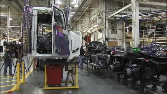 Daimler Trucks North America in Portland. (file image)