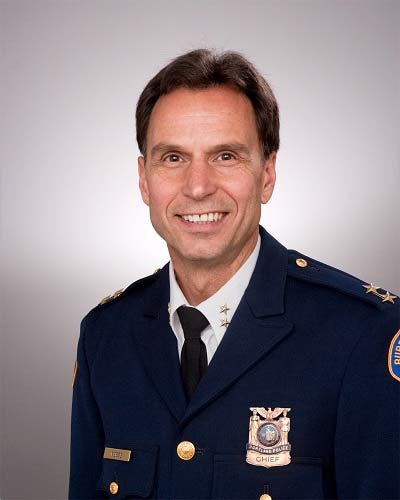 Portland Police Chief Mike Reese