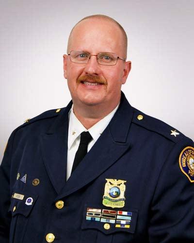 Larry O'Dea, the Chief of the Portland Police Bureau (KPTV)