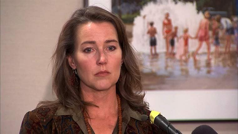 """I was ashamed and embarrassed.  Therefore I did not share this information even with John once we met and started dating,"" says Oregon first lady Cylvia Hayes."