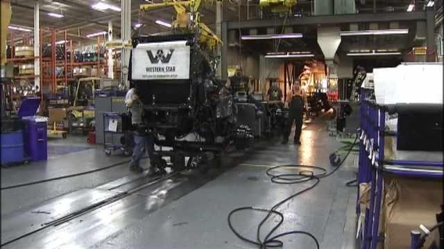 Daimler Trucks North America in Portland, file image
