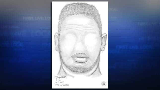 Police release sketch of man accused of trying to lure girl into his truck