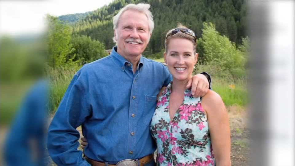 Gov. John Kitzhaber and his fiancee, Cylvia Hayes