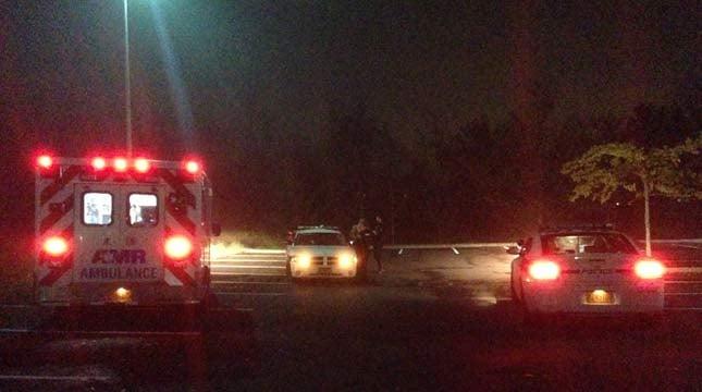 The scene where Washington murder suspect David Kalac was taken into custody in Wilsonville.