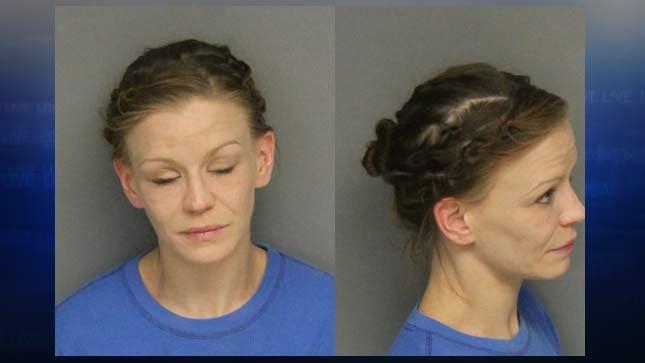 Jacqueline Underwood, jail booking photo