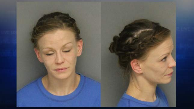 Jacqueline Underwood, jail booking photo