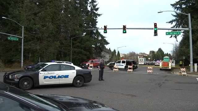 57-year-old Anita Walters was hit and killed at Northeast Vancouver Mall Drive and Andresen Road.