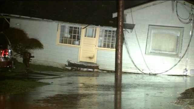 Flooding in Hoquiam. (Image: KCPQ)