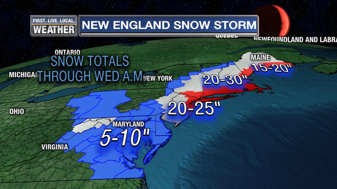 news local storm buries portland under foot snowcsp