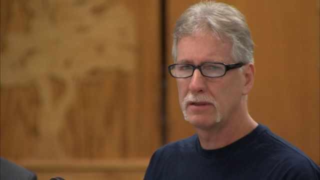 Sidney Dean Porter in court (KPTV file image)