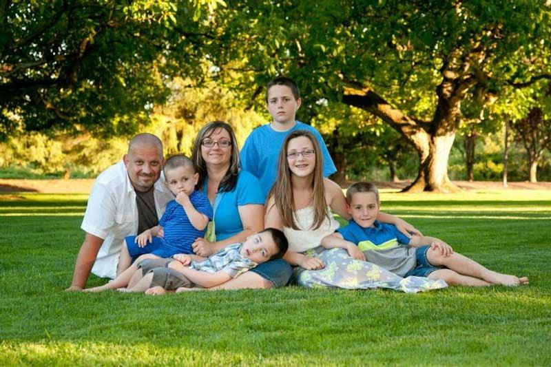 Photo: Wilson family