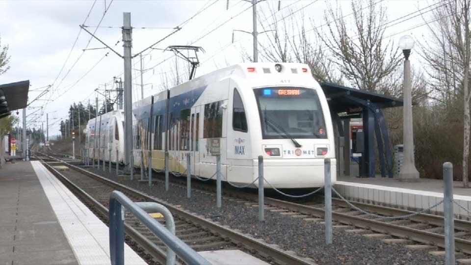 File photo: MAX Blue Line train