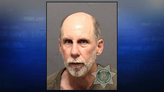 Michael Dick, jail booking photo