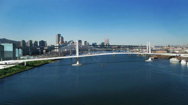 The MAX Orange Line project, including the Tilikum Crossing, Bridge of the People, is on time and under budget.