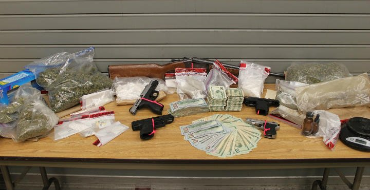 Linn County Sheriff's Office says deputies nabbed more than $80,000 in drugs this week.
