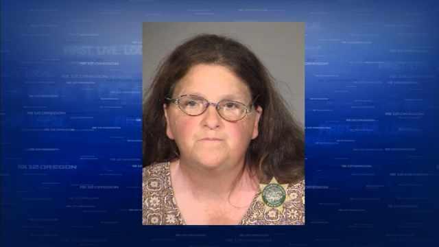 Edna Blair, previous jail booking photo