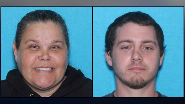 Bobbi Ann Finley and Zackerie House, photos from Marion County Sheriff's ...