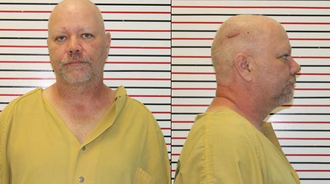 Russell Deviney, jail booking photos
