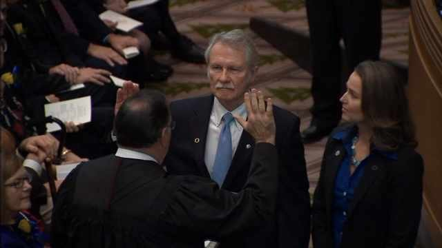 Former Oregon Gov. John Kitzhaber and Cylvia Hayes (file image)