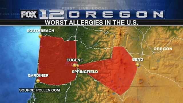 Allergy And Pollen Information Page 35 Worst Cities and The Worst