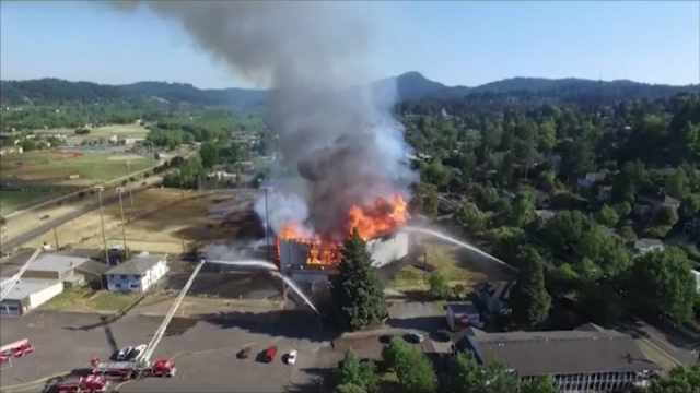 Four boys to face charges for massive fire at Eugene's Civic Stadium