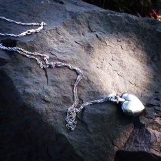 The locket found at Blue Lake Park.