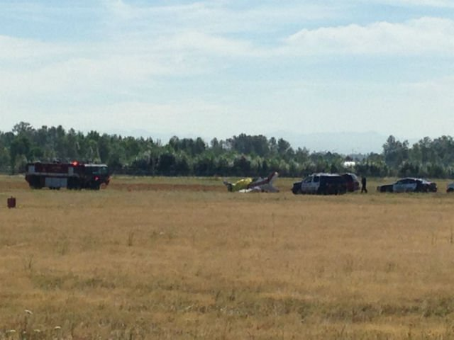 Fatal plane crash at Salem Airport