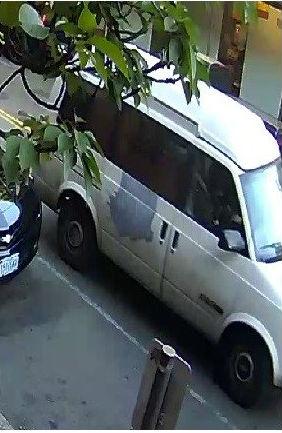 Stolen van Oregon license plates S-Q-E-8-7-3