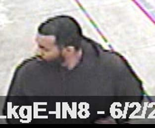 Surveillance image of armed robbery suspect from Gresham PD