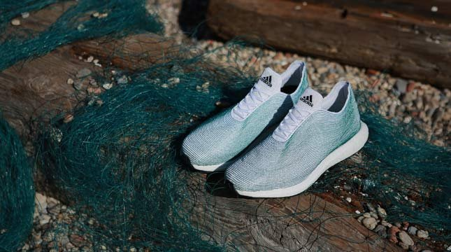 Adidas unveils shoe made from recycled ocean waste, gillnets