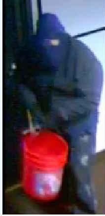 Surveillance photo of burglar (Courtesy: Corvallis Police Department)