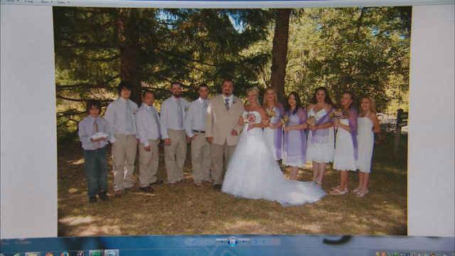 Wedding photos on hard drive