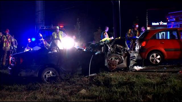 Five injured in crash along TV Highway