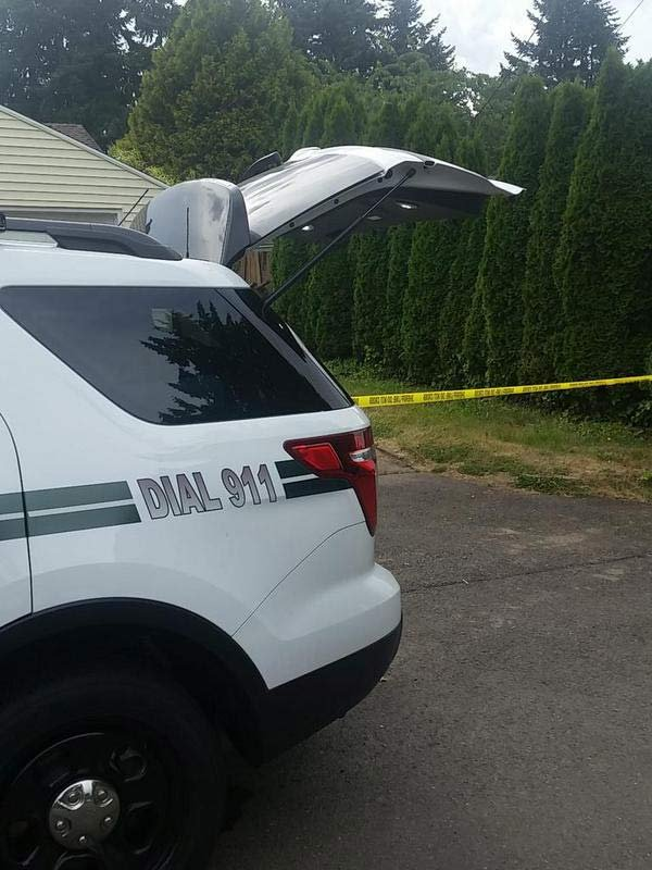 Murder investigation scene in unincorporated Milwaukie, June 21