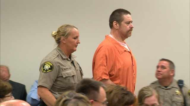Kenneth Hicks in court Monday. He was sentenced to life in prison with parole possible after 20 years.