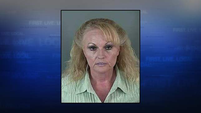 Pamela Jean Gygi, jail booking photo