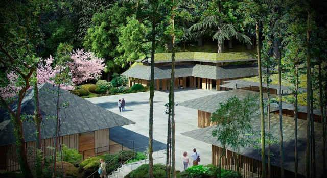 Design of new improvements (Courtesy: Portland Japanese Garden)