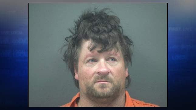 Ronald Flinter, jail booking photo