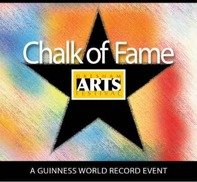 Chalk of Fame logo