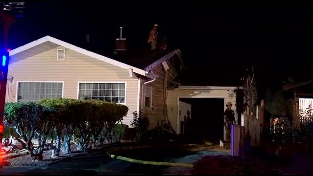 One dog died during house fire in SE Portland