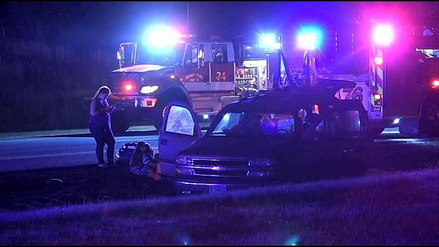 Multi-car crash on HWY 26 near Gresham