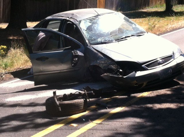 Beaverton man charged with DUII after crashing car