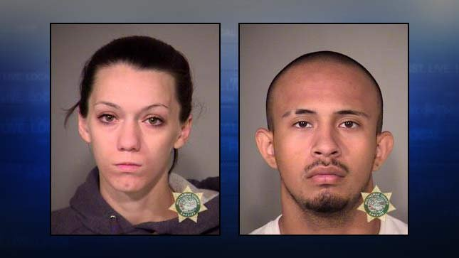 Phillicia Johnsen, Enrique Delacruz, jail booking photos