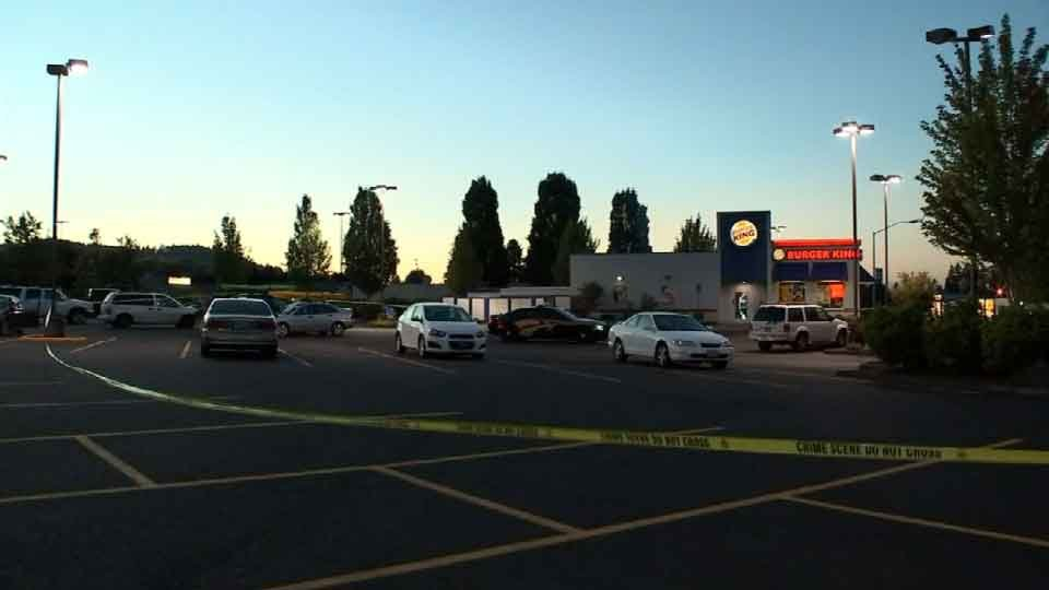 Deputies say the suspect ditched a stolen car in a parking lot in Scappoose, then took off in another.