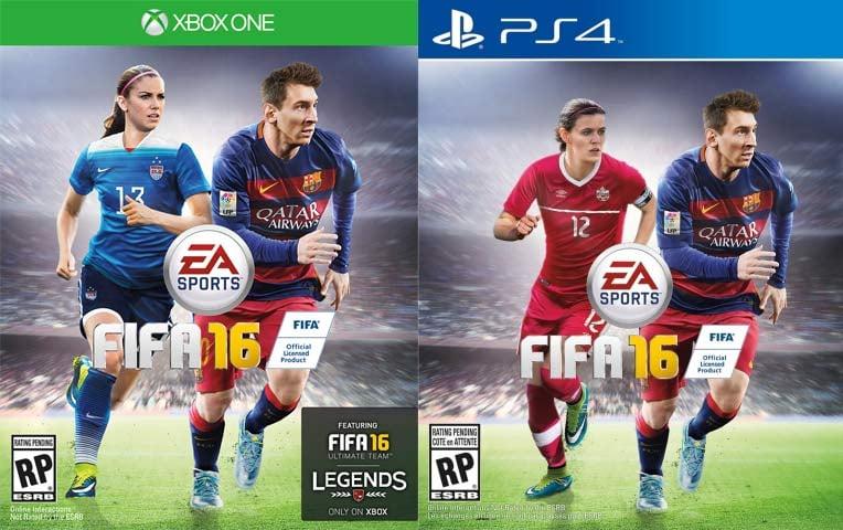 Alex Morgan and Christine Sinclair (Images: EA Sports)